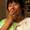 PENEDO. ALAGOAS. PORTRAIT OF A LADY WHO SMOKES A CIGARETTE.
