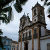 PENEDO. ALAGOAS. FACADE OF THE CHURCH NEXT TO RIVER SAO FRANCISCO.
