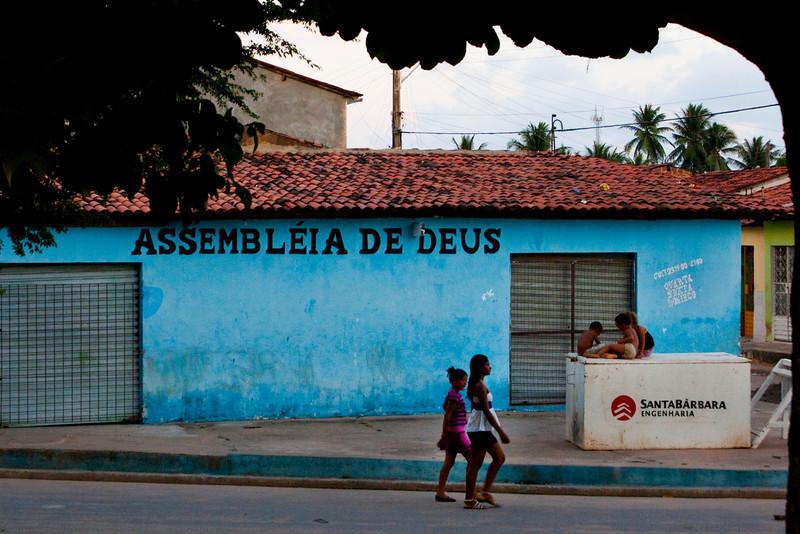 MACEIO. ALAGOAS. ASSEMBLEIA DE DEUS. CHURCH. FAVELA. BRAZIL.