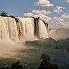 WATERFALLS. FOZ DO IGUACU. LAS CATARATAS DE IGUAZU