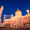 Omar Ali Saifuddin Mosque - Proboscis Monkey - Brunei River - Ba