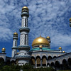 JAME'ASR HASSANAL BOLKIAH MOSQUE (THE LARGEST MOSQUE OF BRUNEI). BANDAR SERI BEGAWAN.