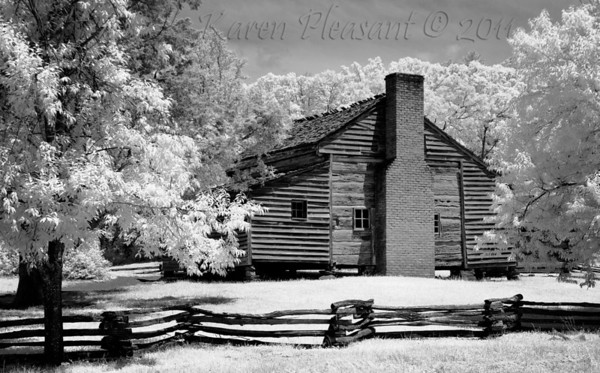 Shields family home, Cades Cove, Smokey Mountains NP