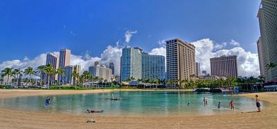 Lagoon, Hilton Hawaiian Village