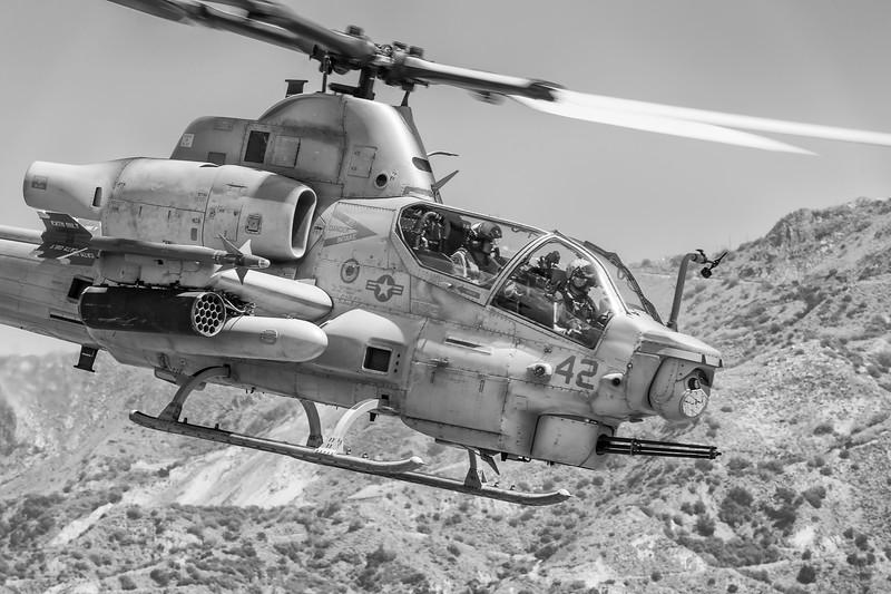 "USMC AH-1Z Cobra Attack Helicopter - ""Zulu Cobra"""