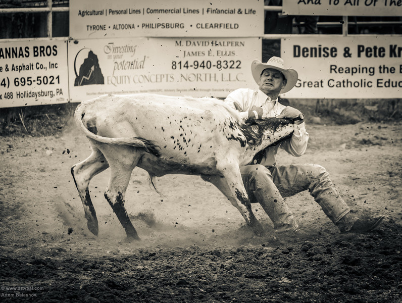 Central PA Rodeo - Huntingtdon, PA, Summer 2013
