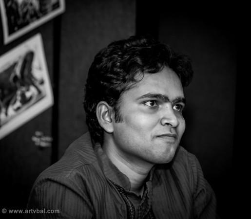 Representative of Bangladesh Table at Penn State World Cultural Festival, March 2013