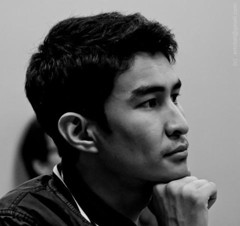 Member of Kazakh Community of Penn State University – at community meeting, Fall 2011