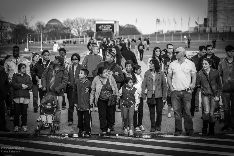 """""""When Can We Go?"""" - Vicinity of Washington Monument, Washington, DC, End of March 2013"""