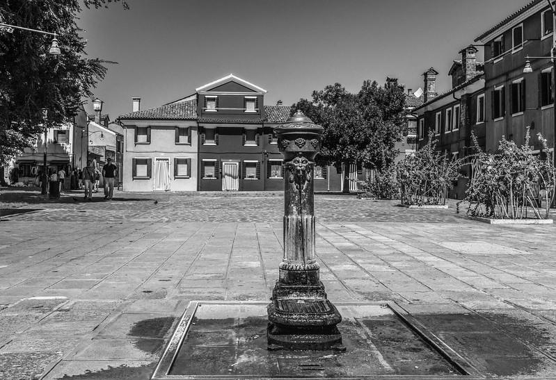Burano Square drinking fountain