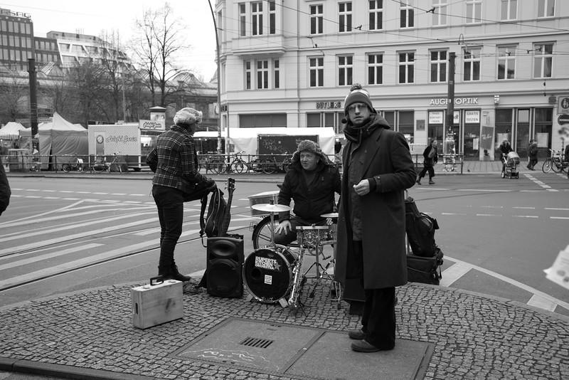 Street Band Preparations - Berlin