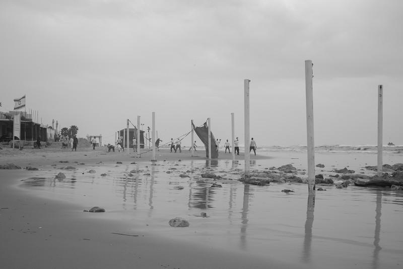 An Autumn Day at Bat-YAm Beach