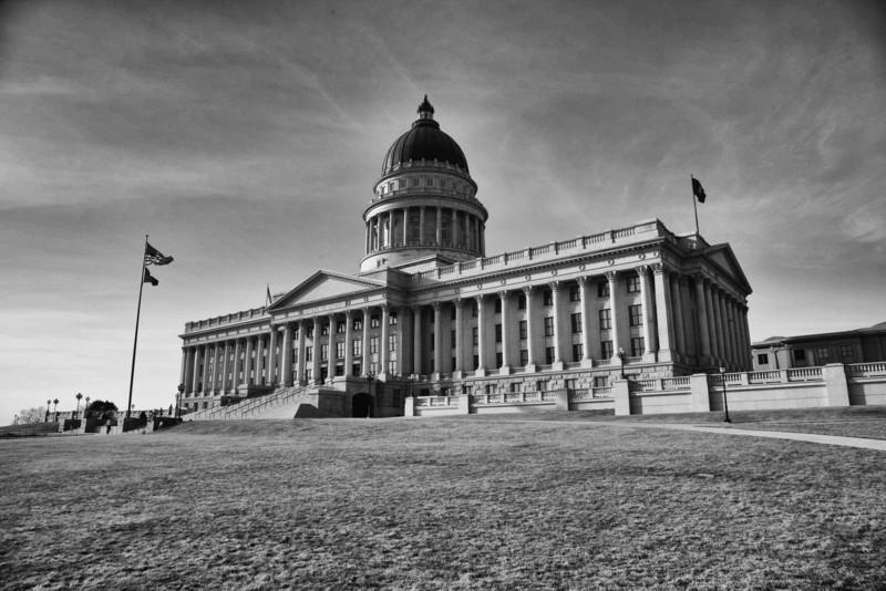 Salt Lake City Capitol Building, Utah