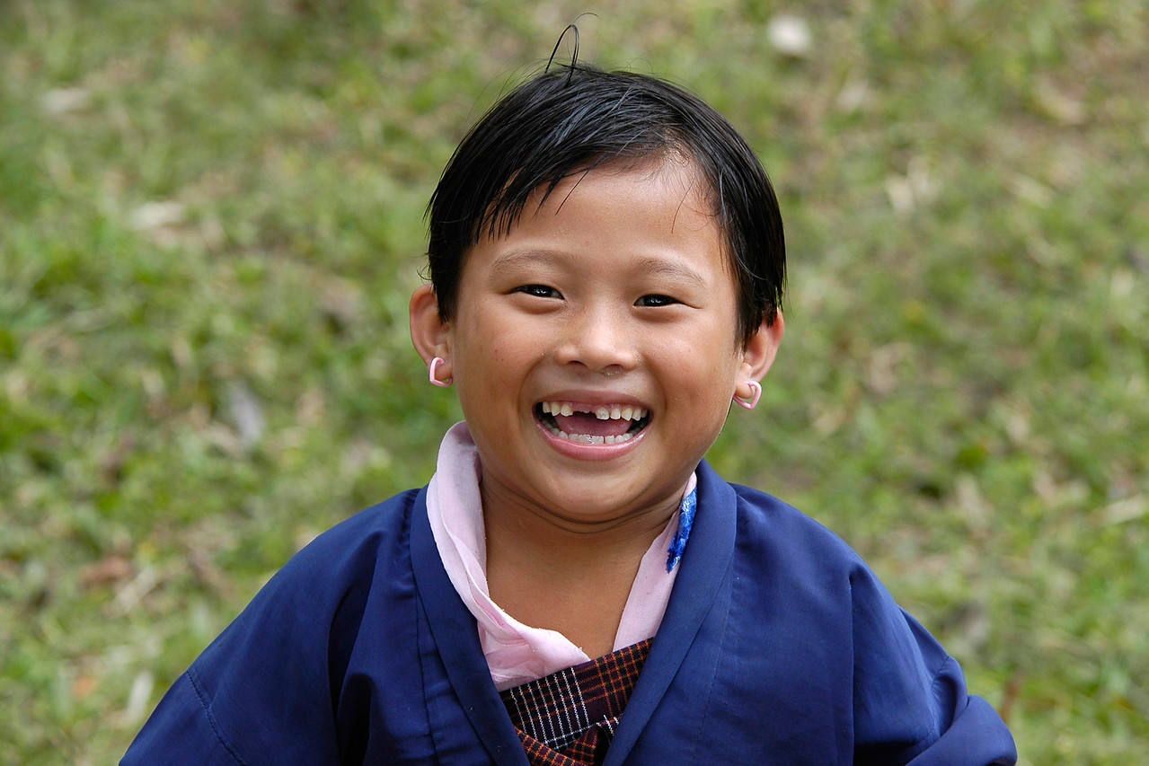 School girl, Samtse [Bhutan