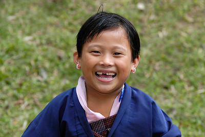 School girl, Samtse [Bhutan]