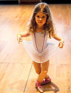 Riley at Dance Class By Kathy Rappaport