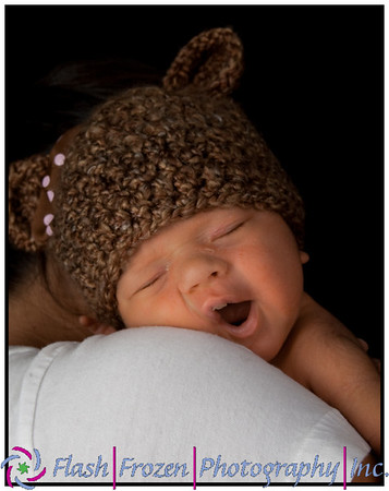 Brand New Baby Girl. Newborn Photography by Kathy Rappaport