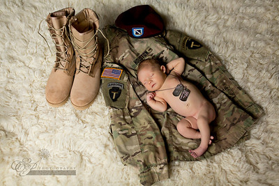 Military Baby Photography in Jacksonville Florida