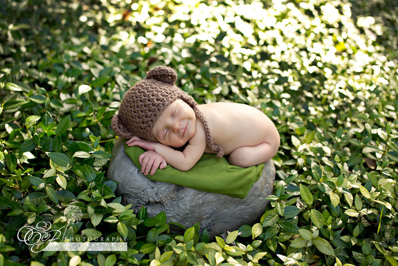 Jacksonville's leading newborn baby photographer