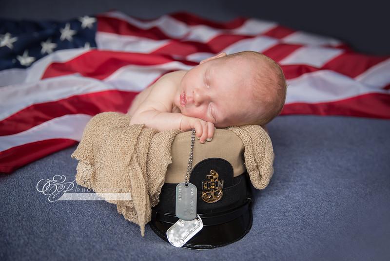 Navy Newborns Jacksonville photographer