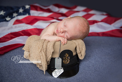 Navy Newborns Jacksonville photographer