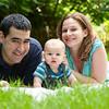 Photo shoot of the Mermel Family