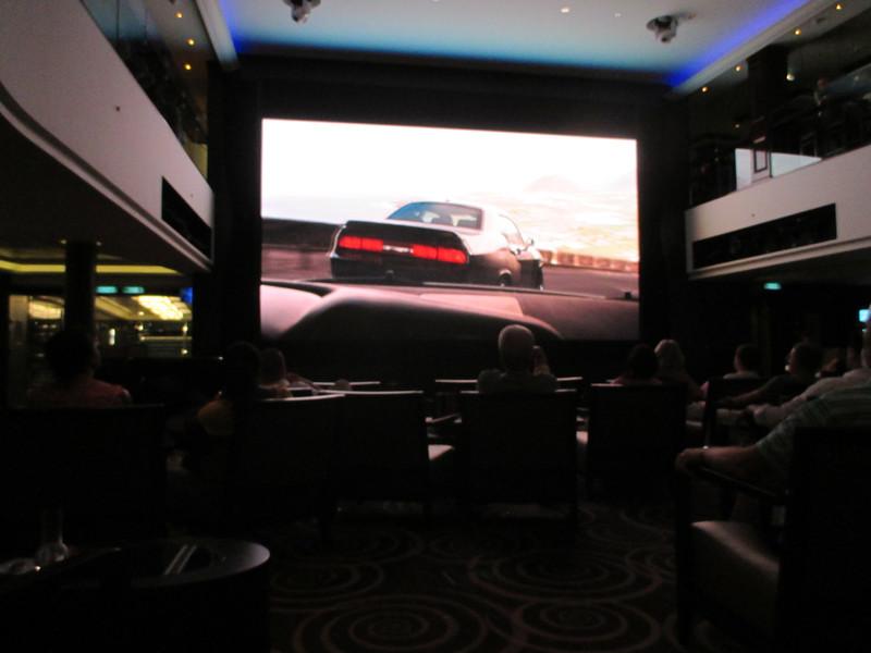 On Board Cruise Ship Movie night - Fast Furios 6