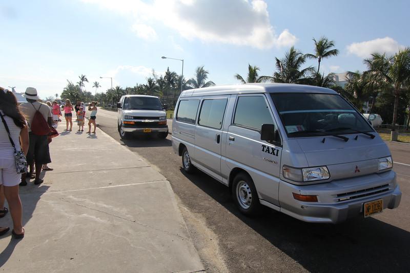our tour Vans
