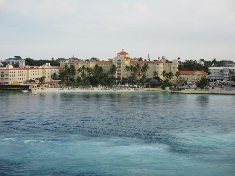 Leaving Bahamas