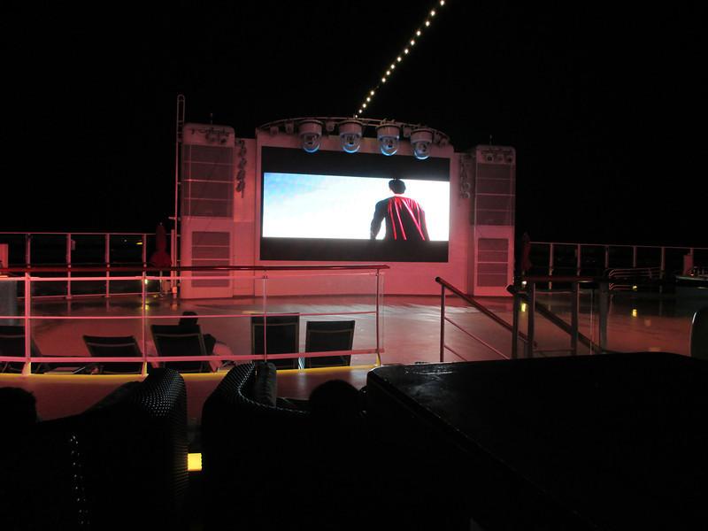 On Board Movie Night - Surperman