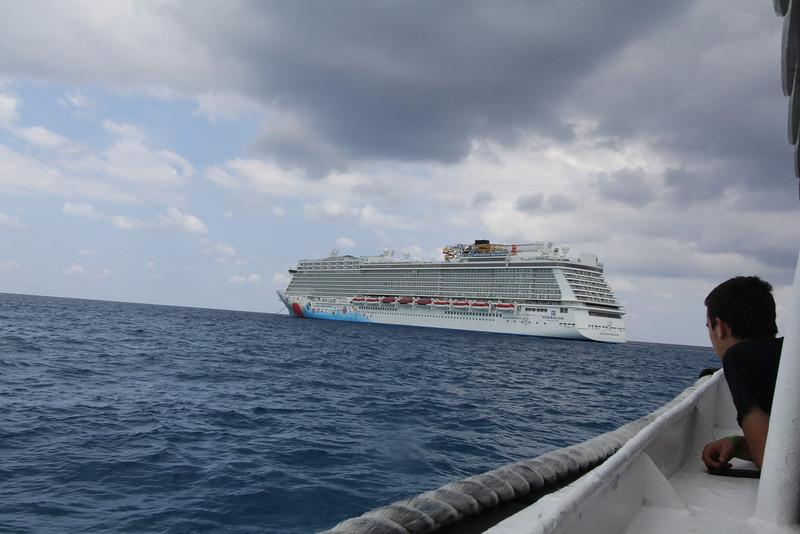 Returning to ship