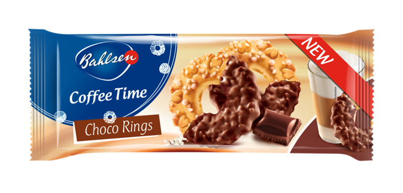 222499 Bahlsen Coffee Time Choco Rings 155 gr