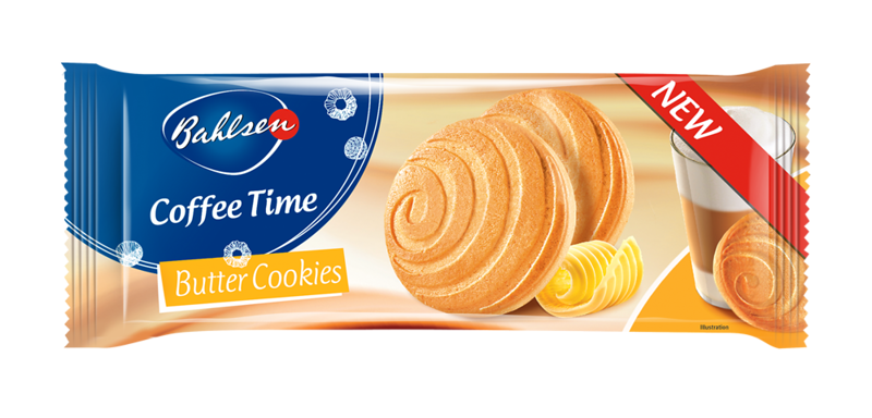 222399 Bahlsen Coffee Time Butter Biscuits 150 gr