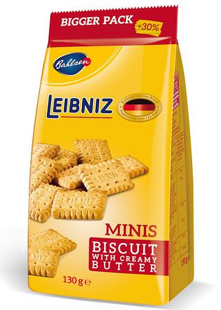 220199 BAHLSEN Leibniz Minis Butter võiküpsised 100g
