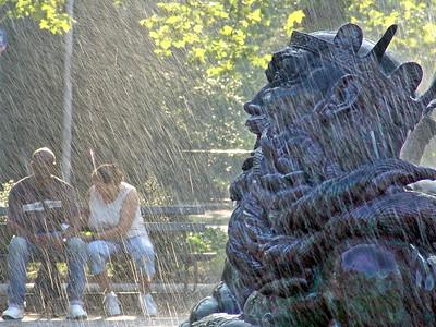 Bailey Fountain promenade