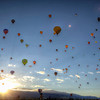 Albuquerque<br /> <br /> 2012 Hot Air Balloon Festival Launch.
