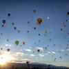 Albuquerque<br /> <br /> 2012 Hot Air Balloon Festival Launch.