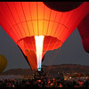 Balloon Glow at Twilight