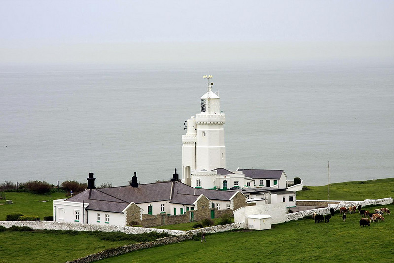 St. Catherine's light house - Isle of Wight<br /> Schmap Southampton Guide - Seventh Edition<br /> Photo selected for their online guide to Isle of Wight