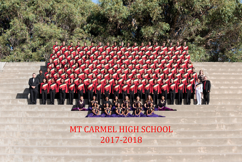 2017-2018 Mt Carmel Marching Band & Color Guard