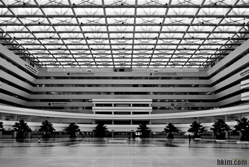 Immigration Bureau Building<br /> Bangkok, Thailand   May, 2011