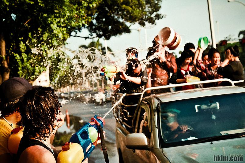 Untitled<br /> Songkran Festival<br /> Bangkok, Thailand   April, 2011
