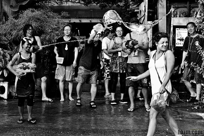Untitled<br /> Songkran Festival<br /> Bangkok, Thailand | April, 2011