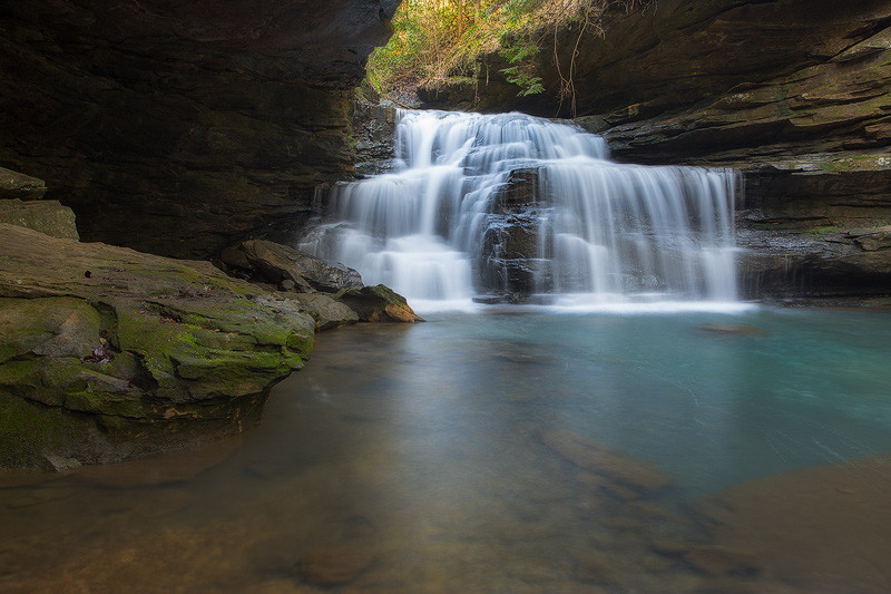 Mize Mill Falls Blue Pool