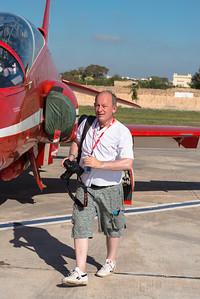"""The Red Arrows Groupee Malta 2013. Photo courtesy of """"Iron Dragon""""."""