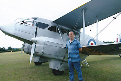 Had a flight in this Dragon Rapide at Old Warden on 3rd July 2011 as a self purchased birthday present.