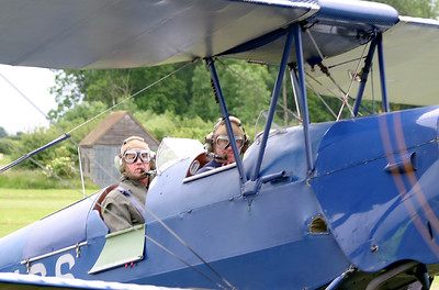 On 11/06/2005 I was bought a flight in Tiger Moth G-ANCS.