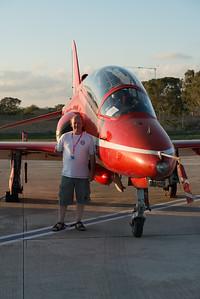 """Me & """"Red 1"""" Malta 2013. Photo courtesy of """"Iron Dragon""""."""