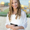 Los Angeles Bat Mitzvah Photographer - courtyard portrait