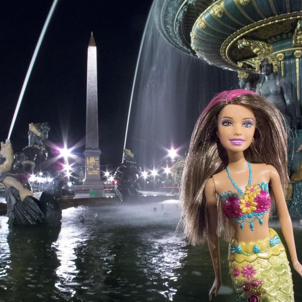 Place de Concorde Barbie